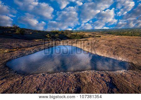 Vernal Pool Atop Enchanted Rock