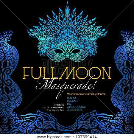 Masquerade Ball Poster