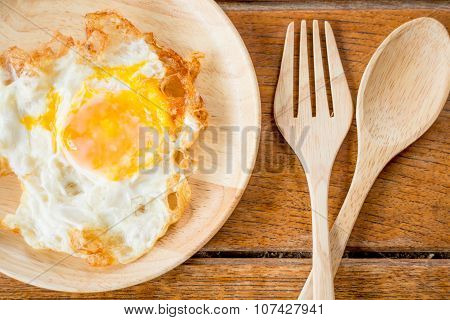 Easy Breakfast With A Fried Egg