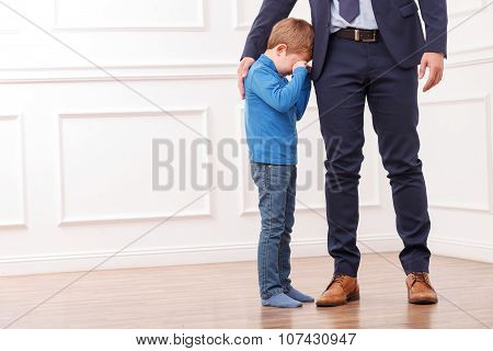 I need going to work my son