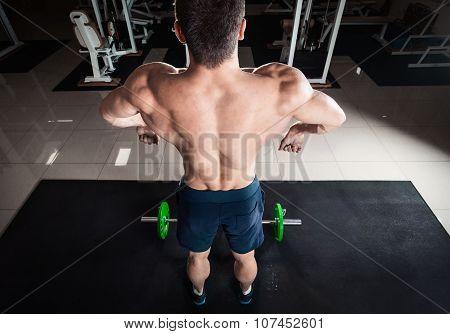 Comic Formidable Bodybuilder