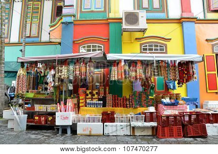 The Colorful House Of Tan Teng Niah In Singapore's Little India