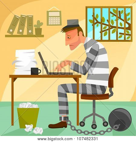 prisoner of work
