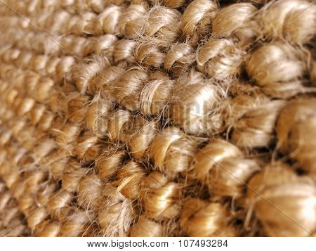 Woven pattern.