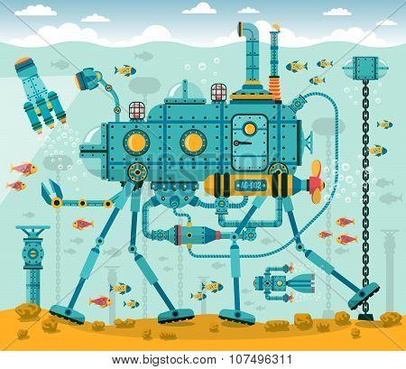 underwater machine