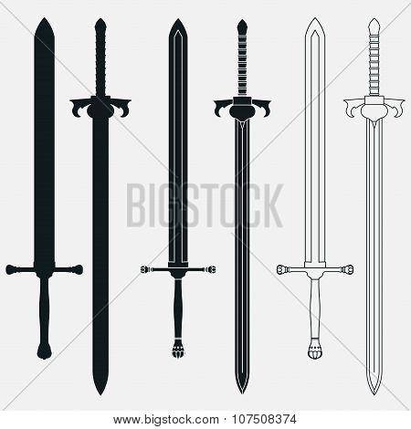 Ancient Swords Set