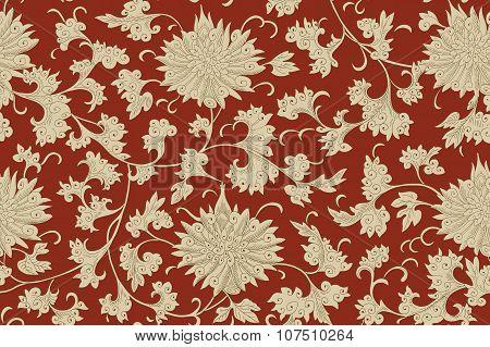 Chinese seamless pattern. Vintage