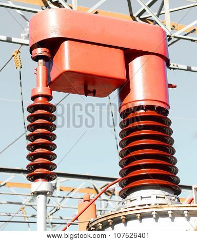 Electrical Devices In A Power Station