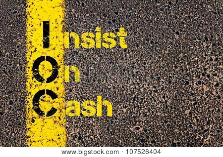 Business Acronym Ioc As Insist On Cash