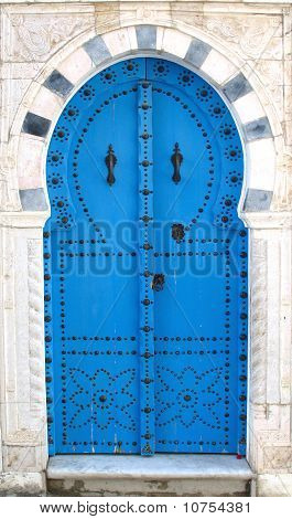 Blue Old Doors
