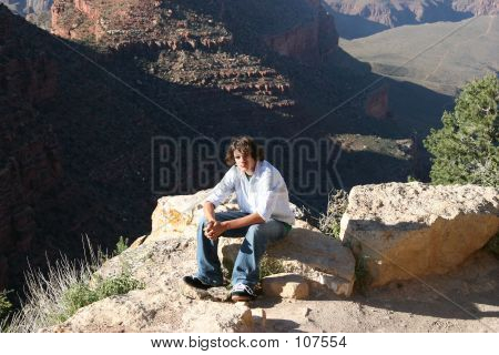 Canyon Teen Boy
