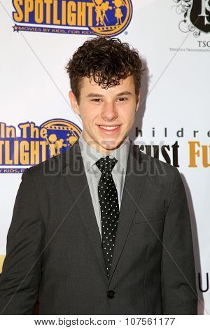 LOS ANGELES - NOV 7:  Nolan Gould at the Kids In The Spotlight's Movies By Kids, For Kids Film Awards at the Fox Studios on November 7, 2015 in Century City, CA