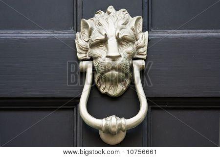 Door Knocker Close Up