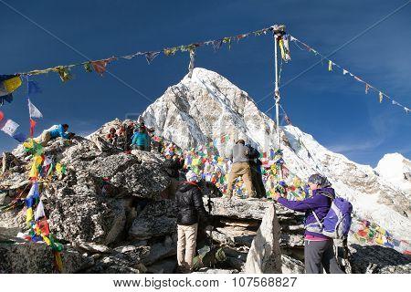 Mountain View Point Kala Patthar And Mount Pumo Ri