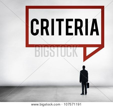 Criteria Controlling Follow Guidelines Conduct Concept