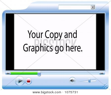Video-Player-Hintergrund