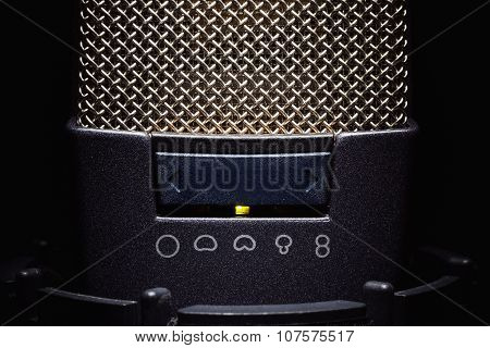 Details Of A Modern Microphone