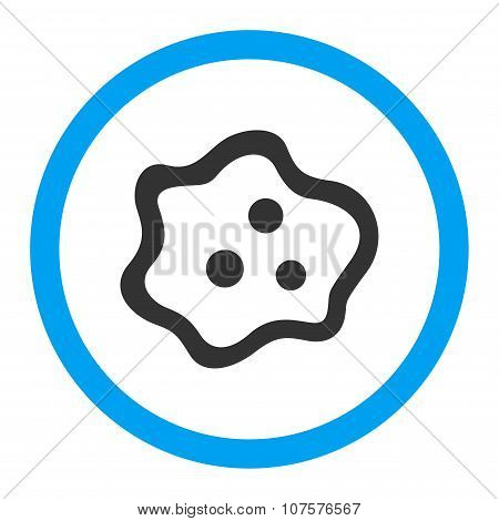Amoeba Rounded Vector Icon