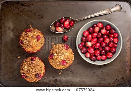 Muffins And Cranberries