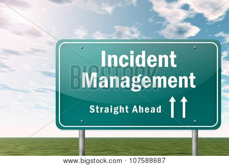 Highway Signpost Incident Management