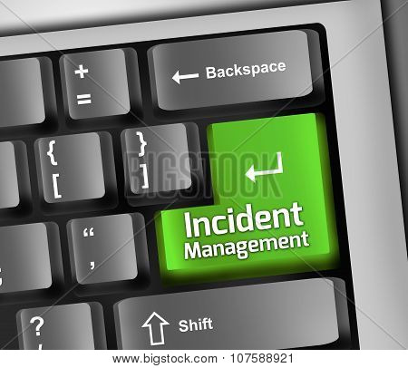 Keyboard Illustration Incident Management