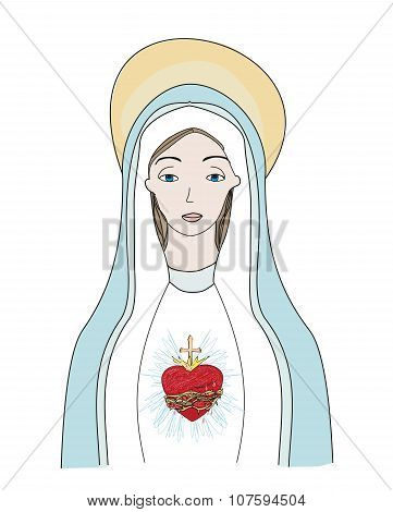 The Heart Santa Mary.