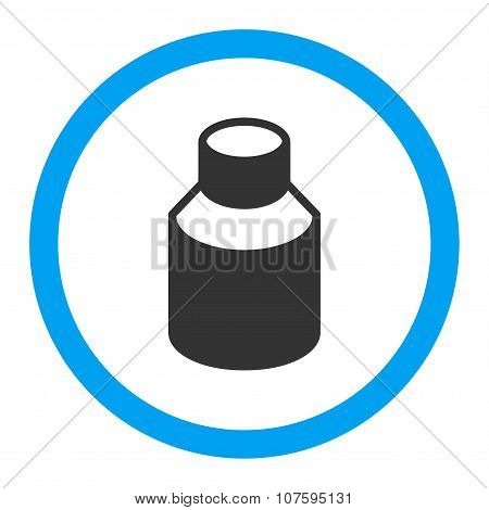 Phial Rounded Vector Icon