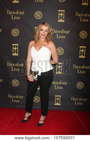 LOS ANGELES - NOV 7:  Christie Clark at the Days of Our Lives 50th Anniversary Party at the Hollywood Palladium on November 7, 2015 in Los Angeles, CA