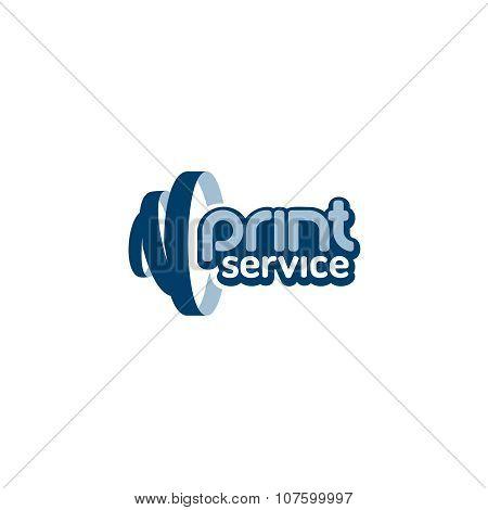 Print Service Logo