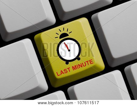 Clock Showing Last Minute