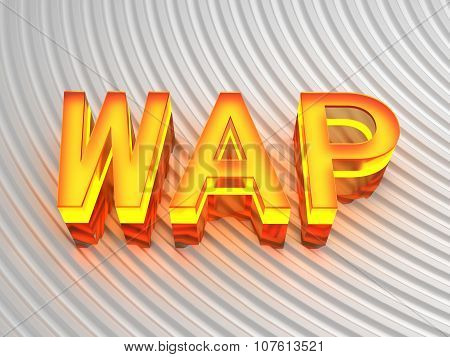 WAP (Wireless access point) sign