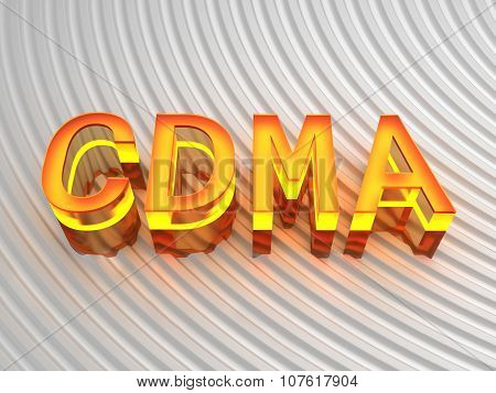 CDMA - Code division multiple access