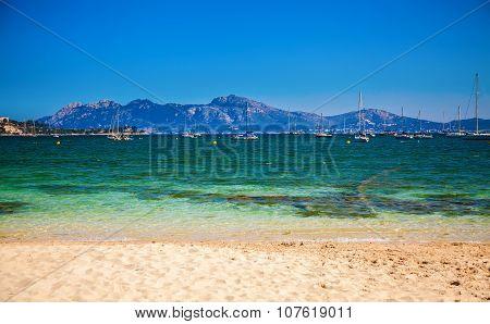 Yachts In The Harbor Of Port De Pollenca