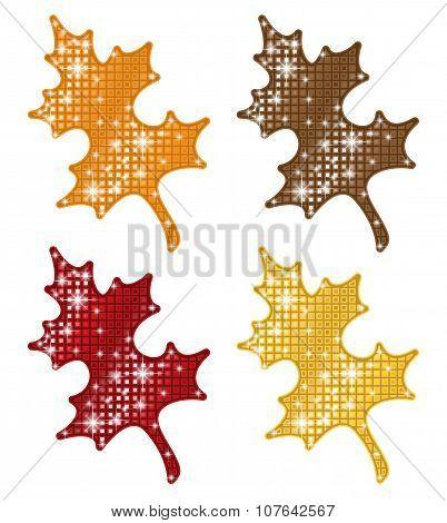 Glittering Autumn Leaves