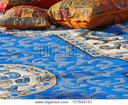 Pillows And Carpets In A Harem Arabic
