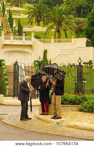 Women In Black Protest, Haifa