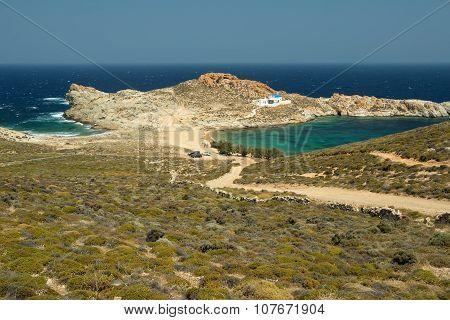 Beautiful Bay In Serifos Island