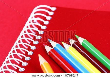 Pencils And Agenda