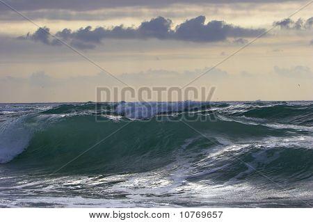 Thunderstorm over Atlantic Ocean 002