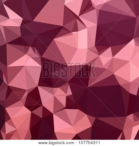 Imperial Purple Abstract Low Polygon Background
