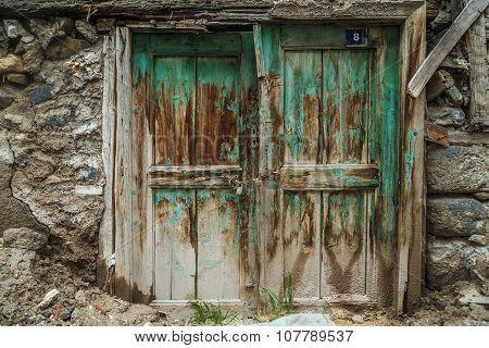 Ancient door in Turkey