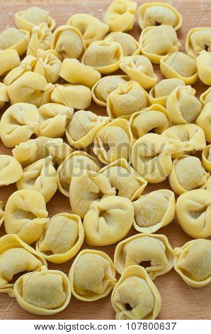 Italian Ravioli Stuffed With Meat Cooked In Broth