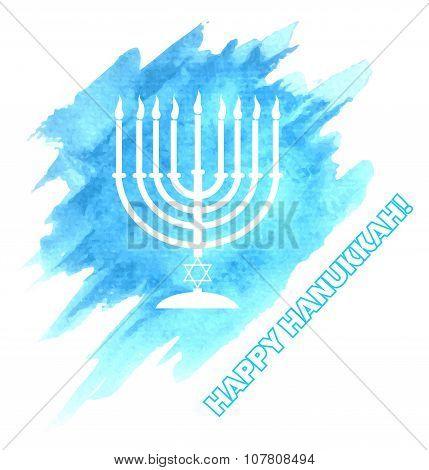 Menora For Hanukkah Celebration