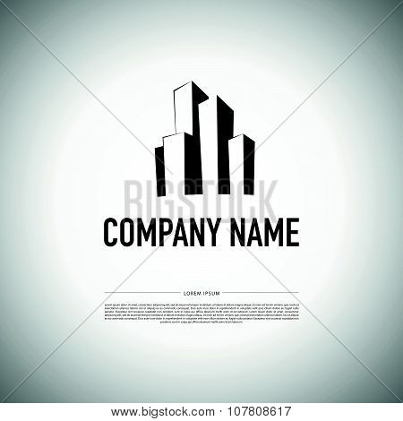 Vector logo disign for urban building company