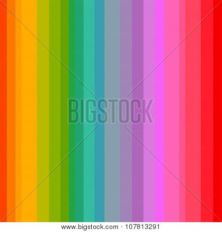 Rainbow Stripes Pattern