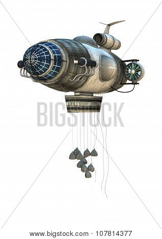 Fantasy Zeppelin Starship