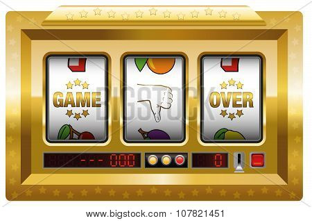 Game Over Slot Machine Gold