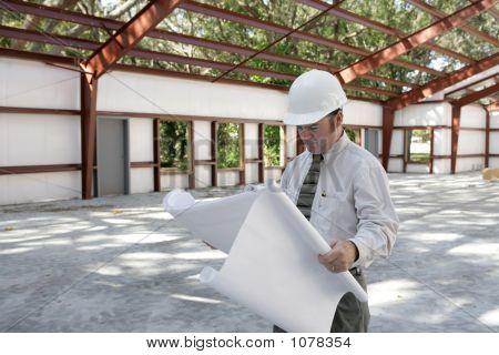 Architect On Jobsite