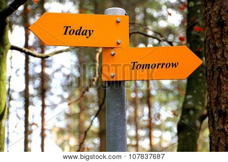 Today and tomorrow