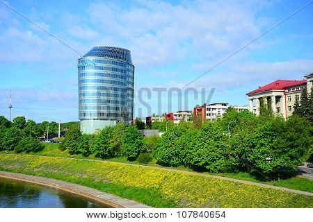 Barclays Bank Office In Vilnius City